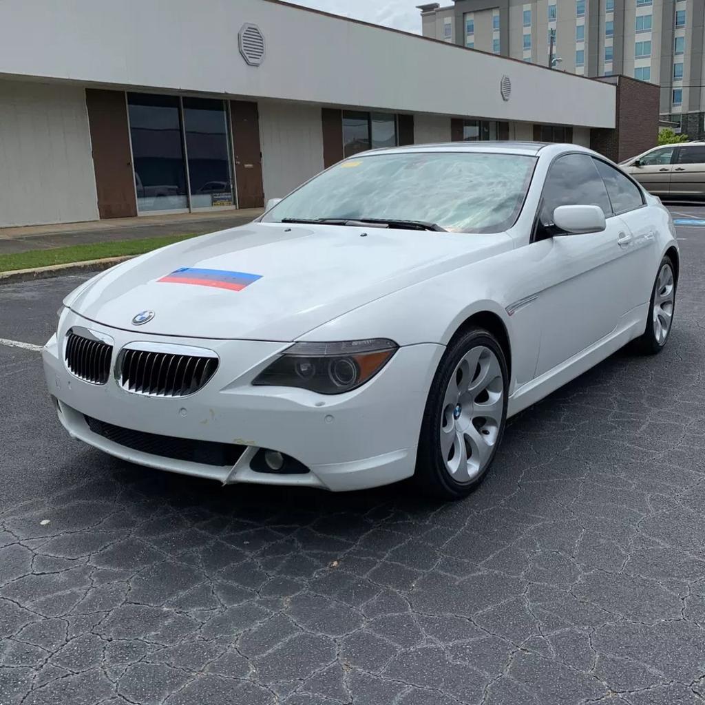 The 2005 BMW 6-Series 645Ci photos