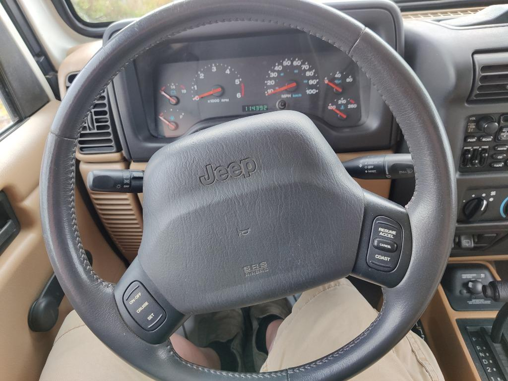 2001 Jeep Wrangler SE photo