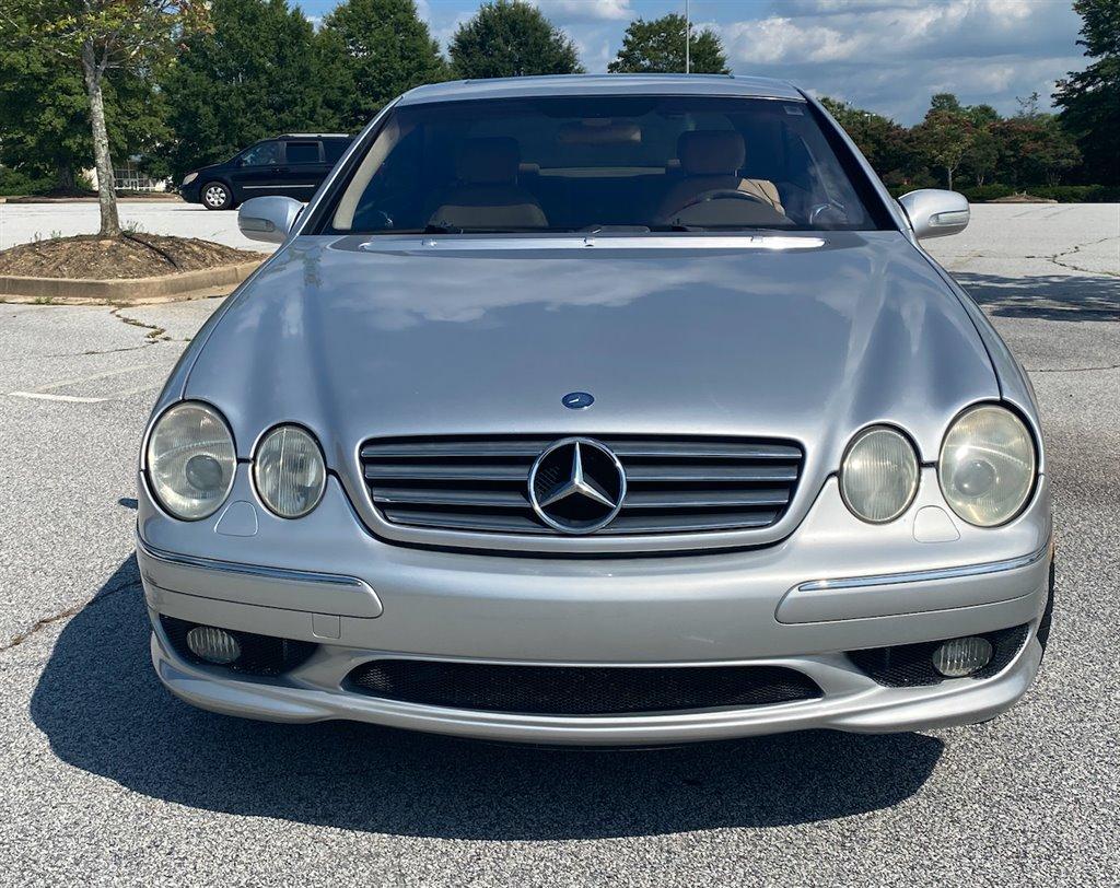 2002 Mercedes-Benz CL-Class CL500 photo