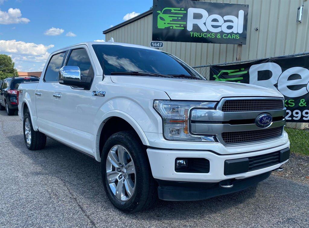 2018 Ford F150 Platinum photo
