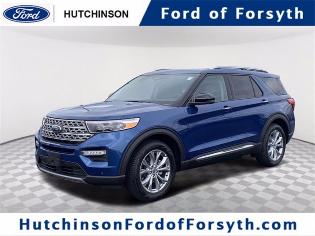 The 2021 Ford Explorer Limited photos