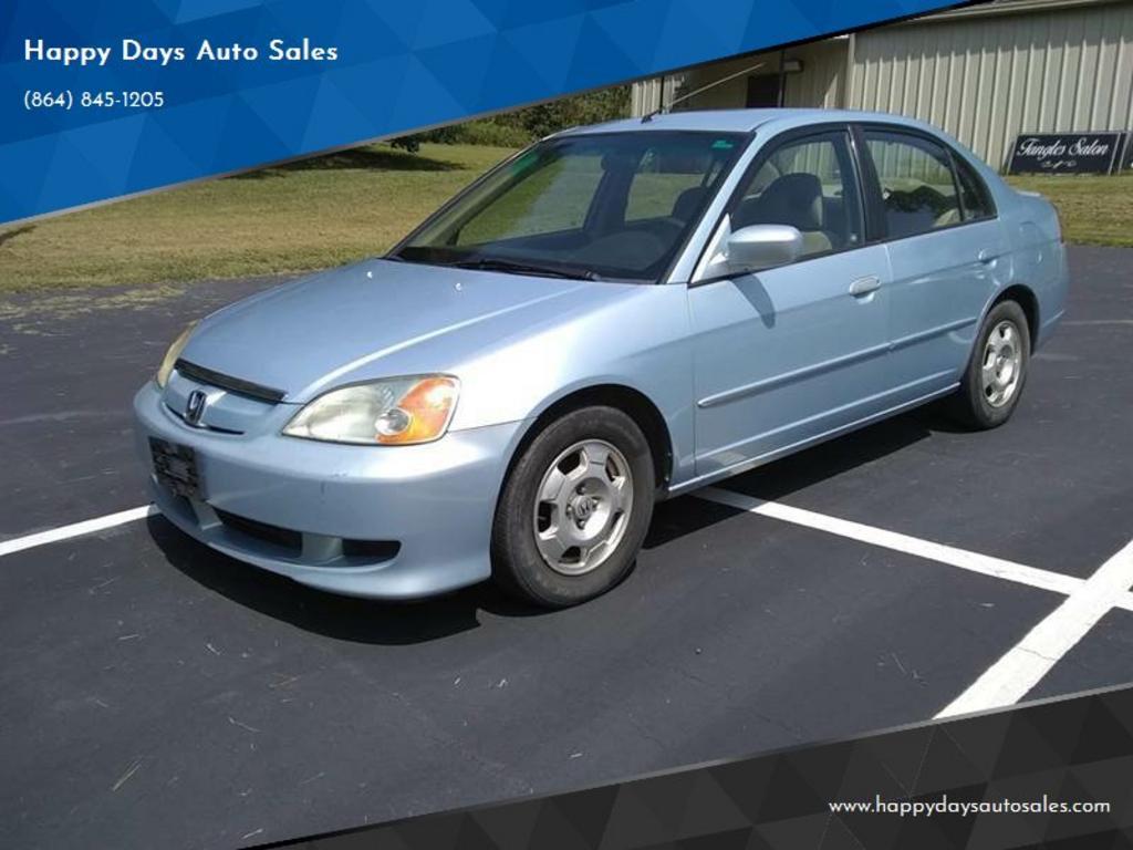 2003 Honda Civic Hybrid photo