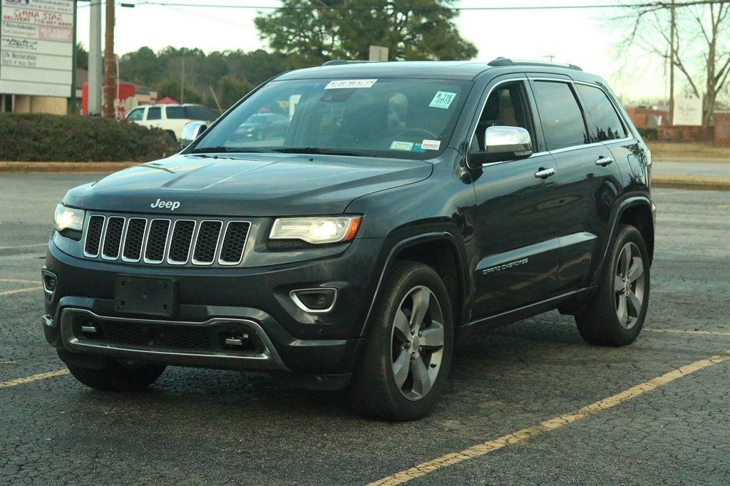 2014 Jeep Grand Cherokee Overland photo