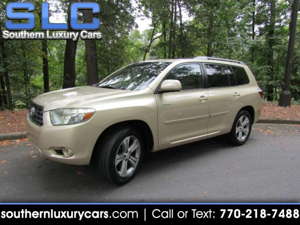 2008 Toyota Highlander Sport photo
