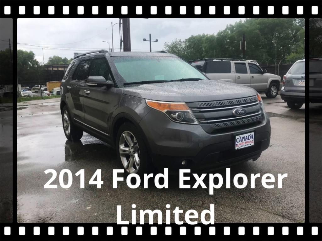 The 2014 Ford Explorer Limited photos